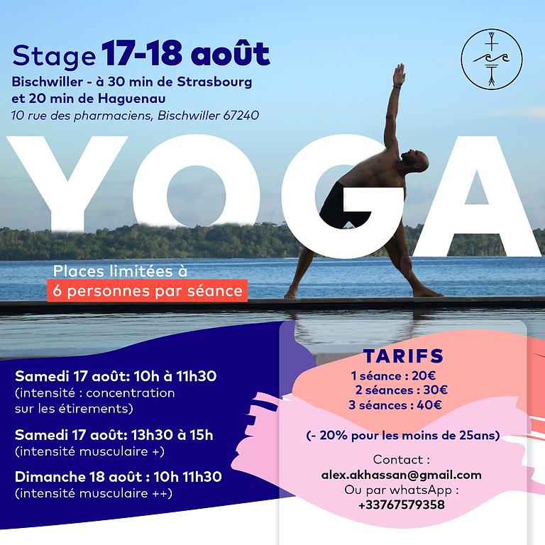 Stage de yoga Bischwiller