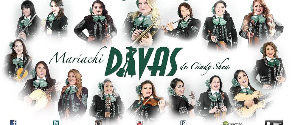 Mariachi Divas 20 Aniversario 1999-2019 Poster