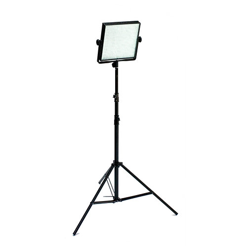 Compact LED Luminaire on stand