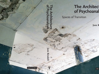 Book launch: Jane Rendell – 'The Architecture of Psychoanalysis: Spaces of Transition'