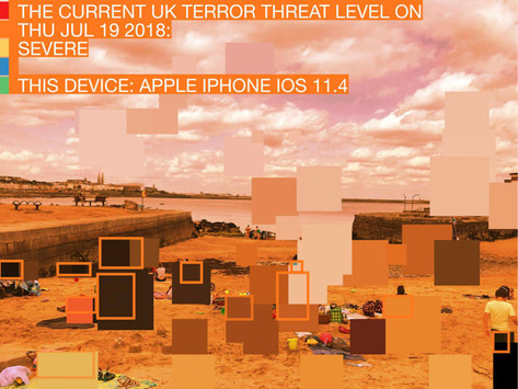 Fear Filter: Visualising the UK Terror Threat Level