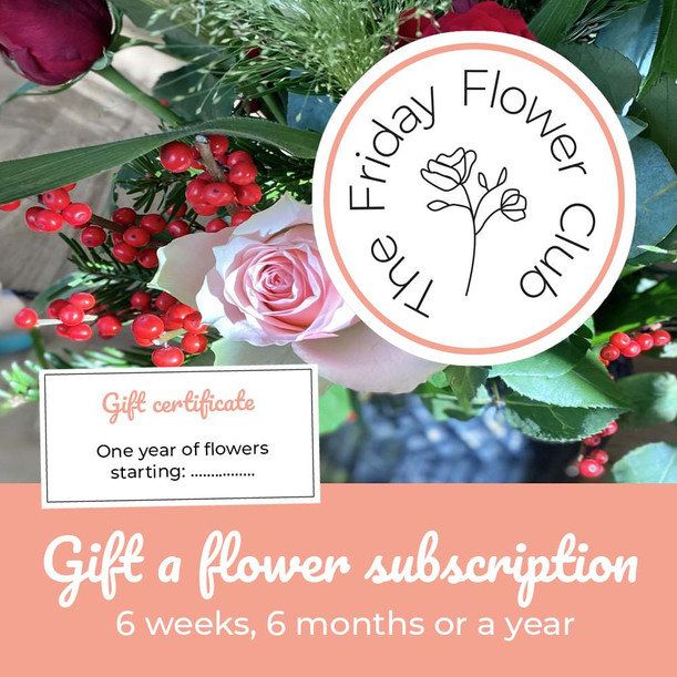 Gift a flower subscription