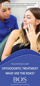 Orthodontic treatments risks