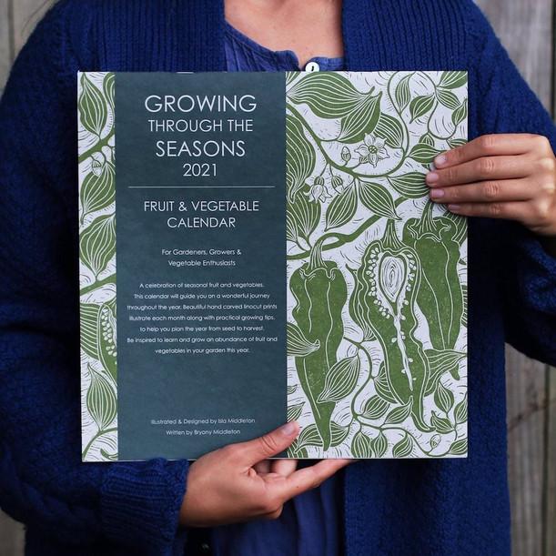 Growing through the Seasons calendar 2021