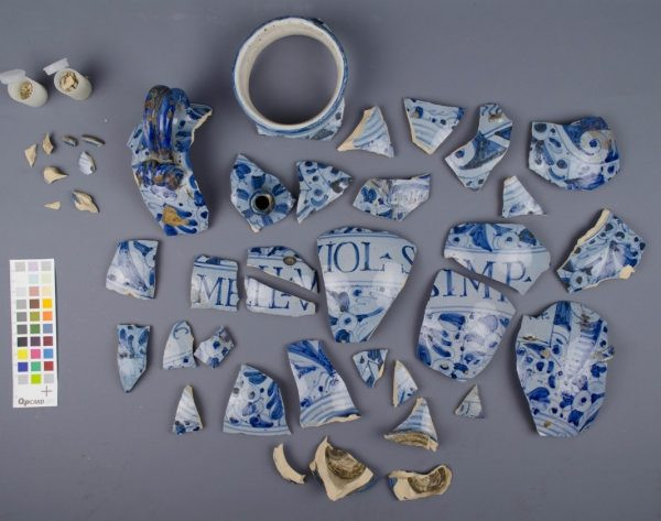 Ceramics conservation project