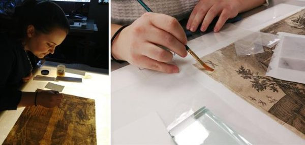 engraving conservation project