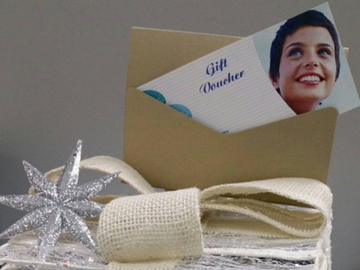 Gift vouchers available at reception