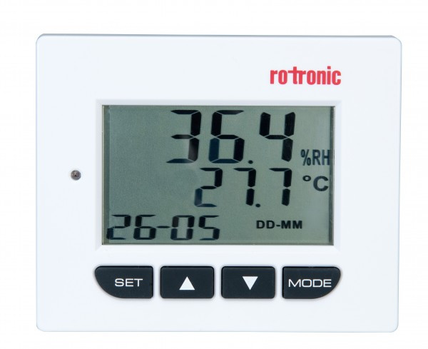 Temperature and humidity display, conservation equipment
