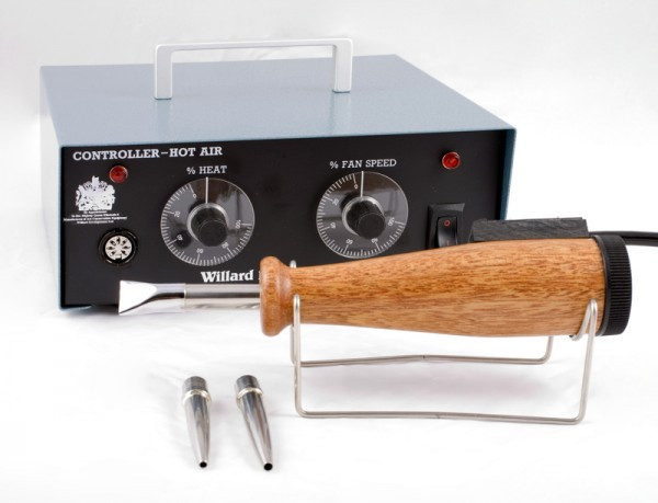 Conservation hand tools - Hot Air Pen with stand, additional nozzles and control box