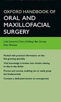 Oxford handbook maxillofacial surgery