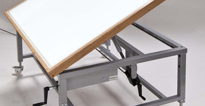 Product Focus: Tilting Top Light Box Table