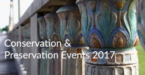 Conservation & Preservation Events 2017
