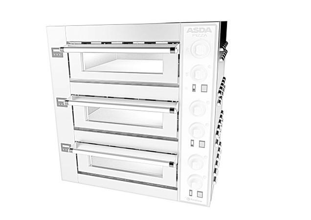 Asda 3 Deck Pizza Oven