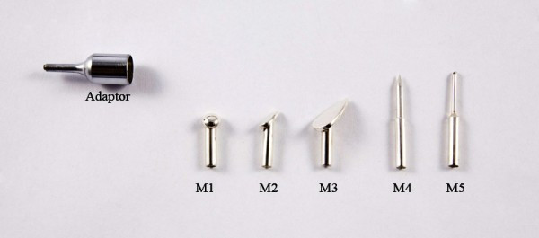 Micro Tips 1-5 with adaptor