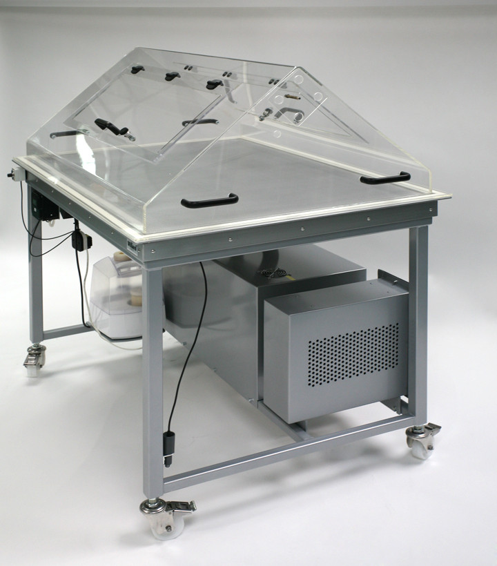suction table hood