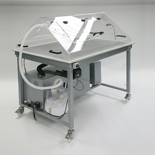 Suction Table with Integrated Exhauster
