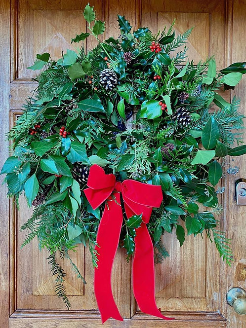 Traditional Wild Wreath