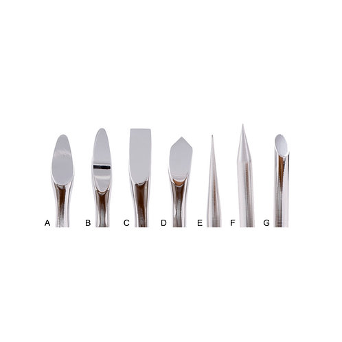 Standard Tips for Heated Spatula Conservation Tools