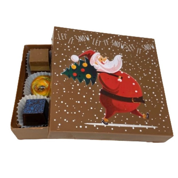 Let it snow chocolate box
