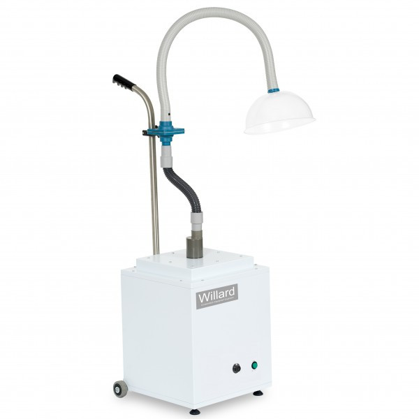 Portable extraction unit, conservation equipment