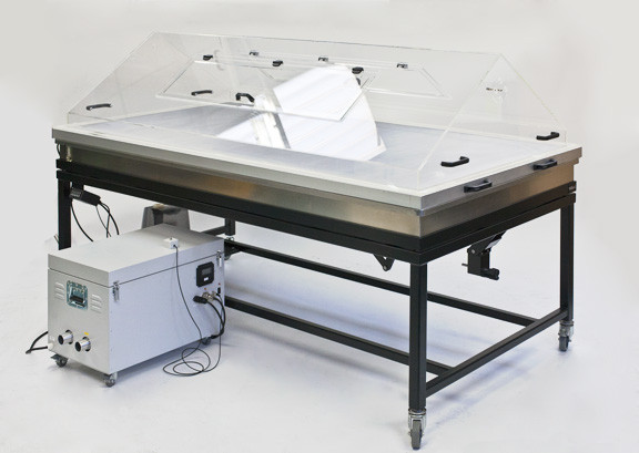 Suction Cleaning & Washing Table