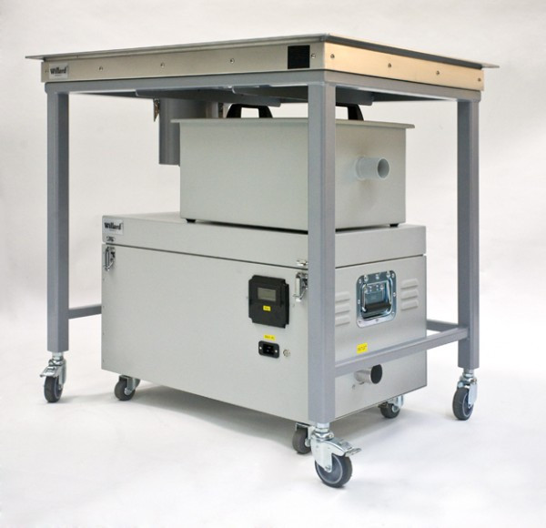 Compact A1 Suction Table