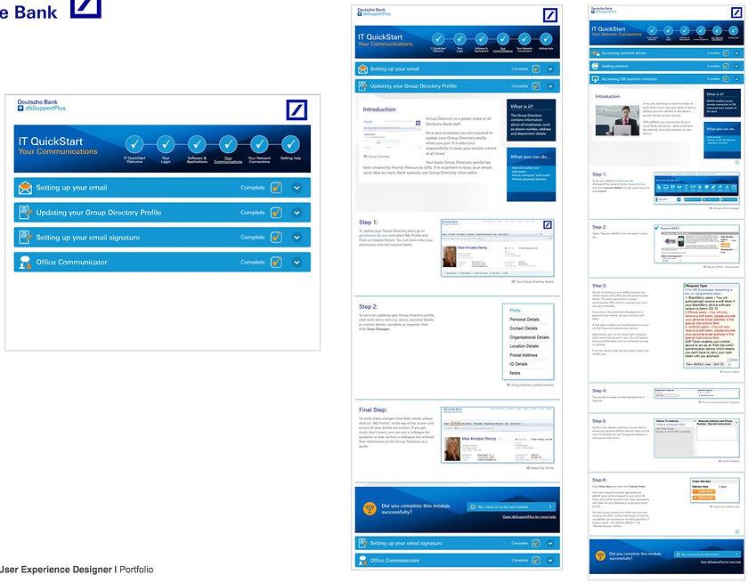 Deutsche Bank onboarding