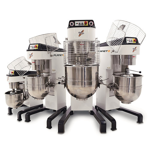 Group of digital planetary mixers
