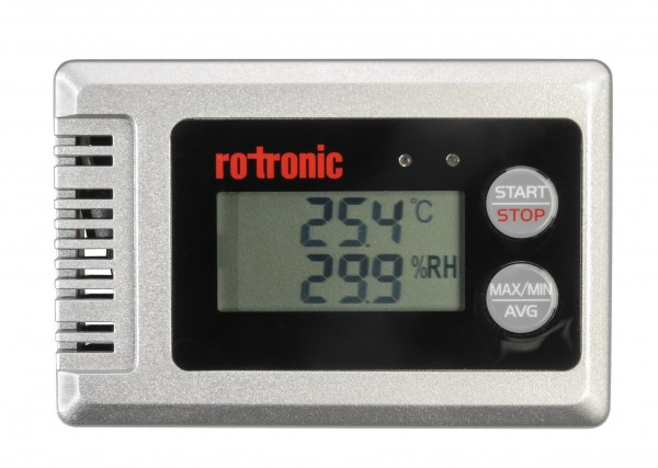 temperature and humidity data logger, conservation