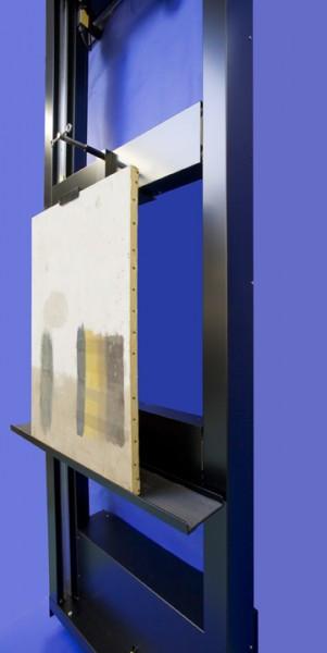Wall mounted scanning easel