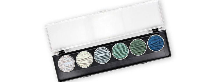 Finetec / Coliro - Ocean Colours - 6 pans / 30mm