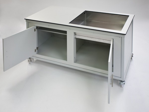 laboratory sink for cupboard