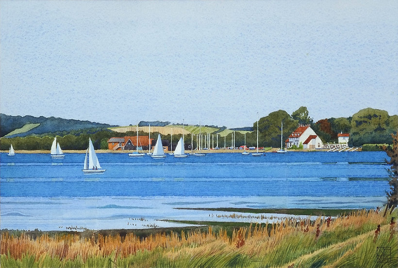 Chichester Harbour Towards Dell Quay