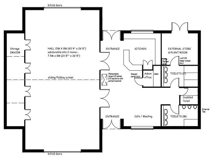 Westhampnett Community Hall map