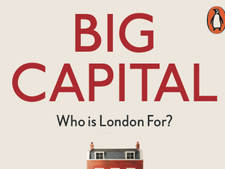Book launch event for Big Capital: 7July