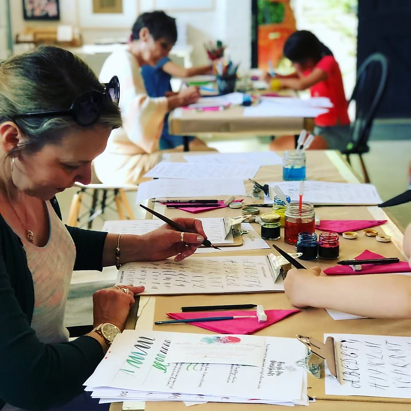 Stroud: Beginners Modern Calligraphy Pointed Nib Workshop - Saturday 2nd May 2020 - Full Day (1)