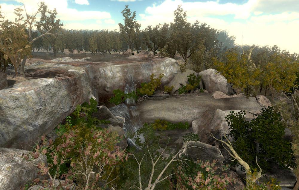 In a Minor Key – still frame from gameplay (Frankham 2021)