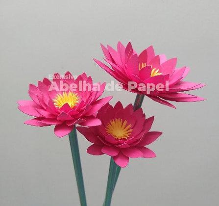 Molde digital Flor 57