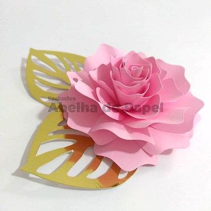 Molde digital Flor 27