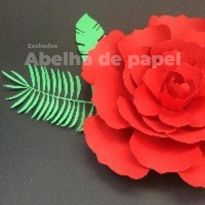 Molde digital  Flor Gigante 09