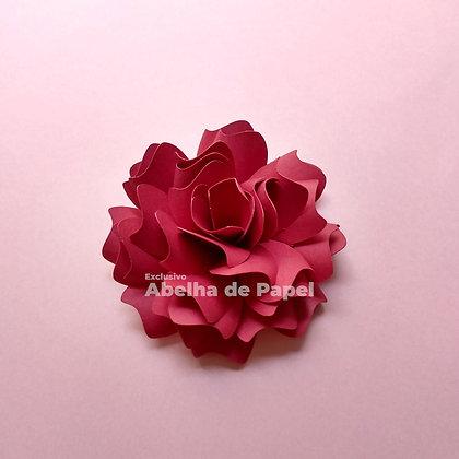 Molde digital flor 53