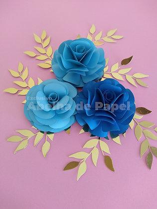 Flor 31 - Arquivo de corte - Plotter de recorte