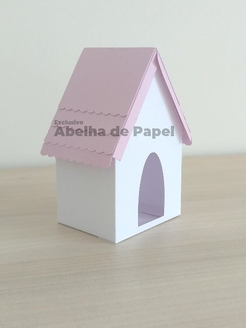 Molde digital Casinha 3D
