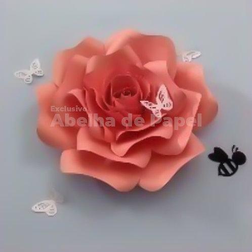 Molde digital Flor 43
