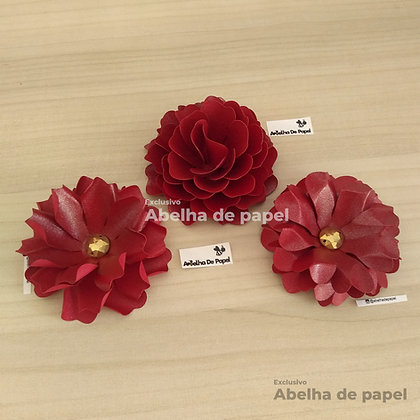 Flor 65 / Molde digital/Arquivo de corte/Molde de Flor para decorar