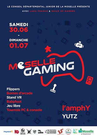 E-sport | Stéphane DIAGANA dans la peau d'un gamer au « Moselle Gaming »