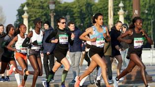 Marathon de Paris   Un record de France qui embarrasse Stéphane Diagana