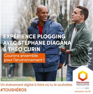 Événement | Week-end plogging 100% digital avec Stéphane Diagana et Théo Curin