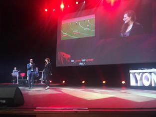Lions du Sport | Stéphane DIAGANA récompense Caroline GARCIA et Frédéric MICHALAK