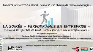 Conférence | Stéphane DIAGANA s'adresse aux entrepreneurs à Mougins